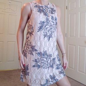 Love Reign Pink Lace Mini Dress